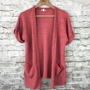 UO silence + noise stripe knit sweater